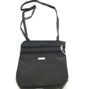 Baggallini Gray Crossbody Travel Bag